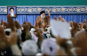 دیدار بسیجیان با رهبر معظم انقلاب
